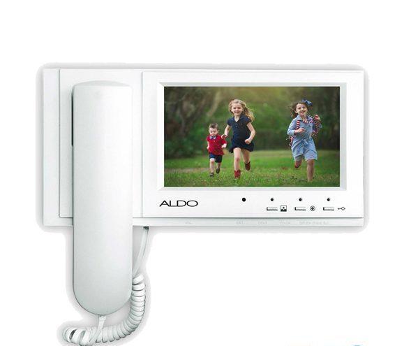 فروشگاه آیفون تصویری دورفون - آیفون تصویری آلدو باحافظه مدل AL-725M