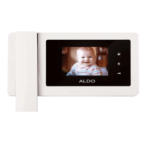 پکیج آیفون تصویری آلدو ۴.۳ اینچ با حافظه همراه با قفل کله گاوی