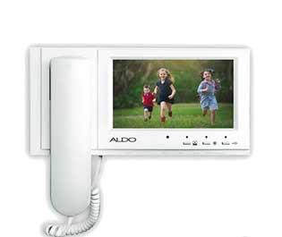 آیفون تصویری آلدو باحافظه مدل AL-725M فروشگاه دورفون