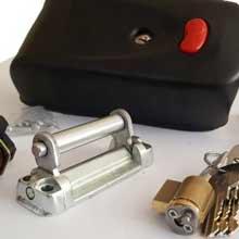 قفل برقی کله گاوی کاویان مدل GE11