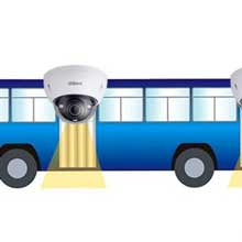 دوربین مداربسته مخصوص اتوبوس و کامیون