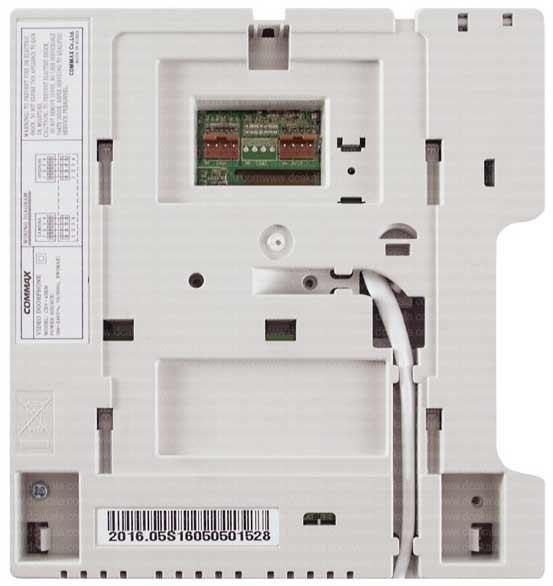 نمای پشت آیفون تصویری کوماکس K43